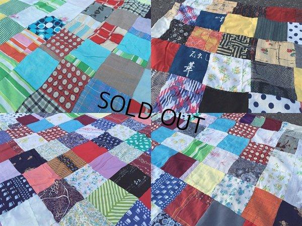 画像3: Vintage Fabric Patchwork #D (PJ738)