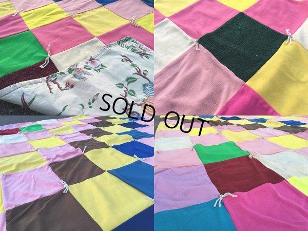 画像3: Vintage Fabric Patchwork #B (PJ736)