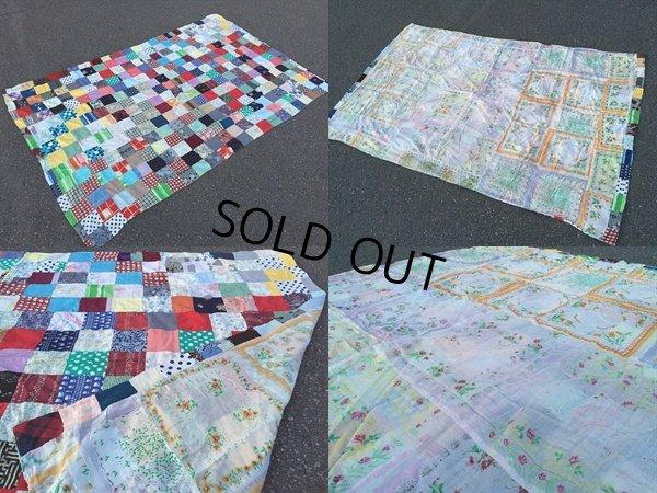 画像2: Vintage Fabric Patchwork #D (PJ738)