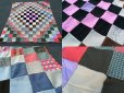 画像3: Vintage Fabric Patchwork #C (PJ737)  (3)