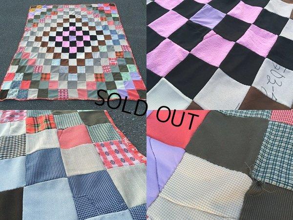 画像3: Vintage Fabric Patchwork #C (PJ737)
