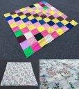 画像2: Vintage Fabric Patchwork #B (PJ736)  (2)