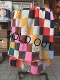 Vintage Fabric Patchwork #C (PJ737)