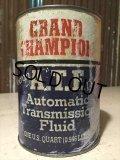 SALE Vintage Grand Champion Quart Can Motor Gas/Oil (PJ766)
