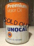 SALE Vintage UNOCAL76 #B Quart Can Motor Gas/Oil (PJ759)
