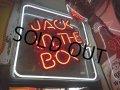 Vinatge JACK IN THE BOX Neon Sign (PJ795)