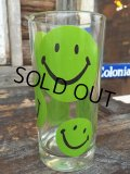 Vintage Glass / Smile Happy Face #B (PJ809)