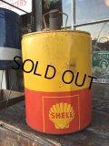 Vintage SHELL 5GL Motor Gas/Oil (PJ927)