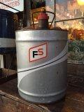 Vintage FS 5GL Motor Gas/Oil Can #A (PJ922)