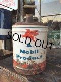 Vintage Mobil 5GL Motor Gas/Oil (PJ928)