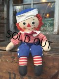 Vintage Raggedy Andy Rug Doll 39cm (PJ948)