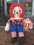 Vintage Raggedy Andy Rug Doll 38cm (PJ947)