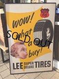 Vintage LEE Tires x Phillips 66 AD Store Sign (PJ957)