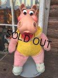 Vintage Disney Fantasia Hyachinth Hippo Rubber Face Doll (DJ55)
