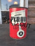 Vintage Oil can Canco Pyr Oil (DJ80)