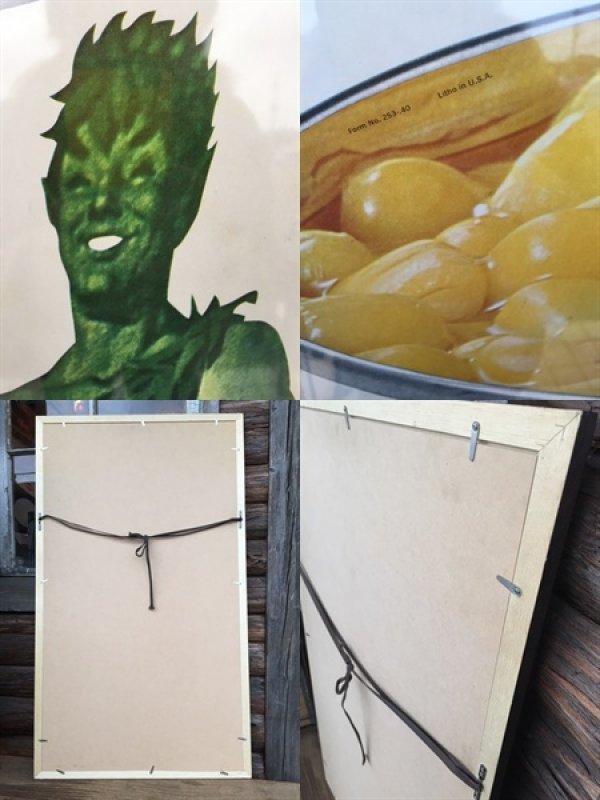 画像3: Vintage Advertising Poster Green Giant w/frame (DJ232)