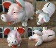 画像2: Vintage Pig Ceramic Bank Statue (DJ301) (2)