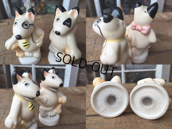 画像3: Vintage S&P set Bull Terrier (DJ306)