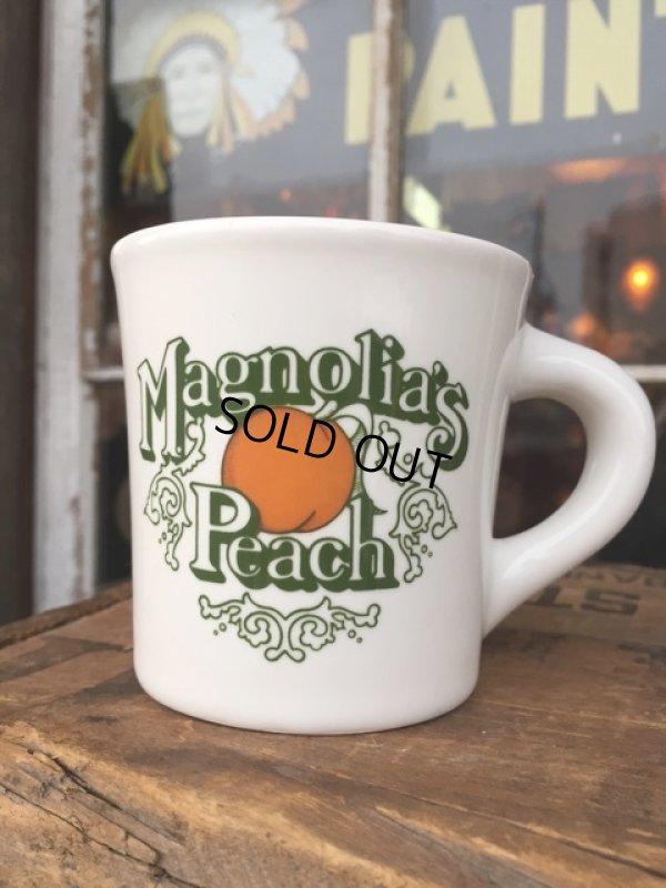 画像1: Vintage Heavy Ceramic Mug Magnolia's Peach (DJ403)
