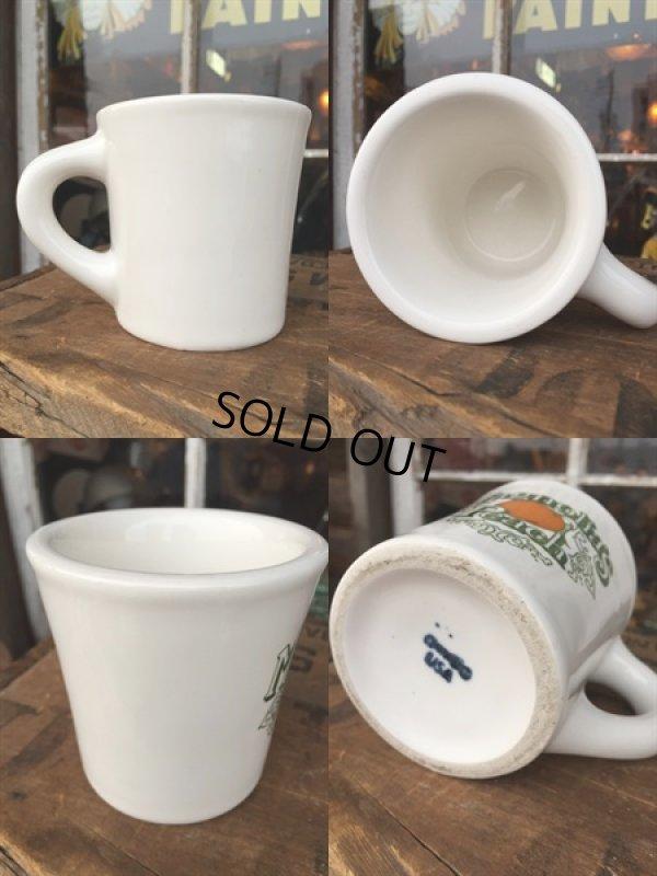 画像2: Vintage Heavy Ceramic Mug Magnolia's Peach (DJ403)