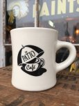画像1: Vintage Heavy Ceramic Mug The Patio Cafe (DJ401) (1)