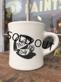 Vintage Heavy Ceramic Mug The Patio Cafe (DJ401)
