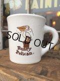 Vintage Heavy Ceramic Mug Pusty Pelican (DJ404)