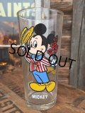 70s Vintage Pepsi Glass / Mickey (DJ426)