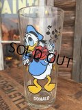 70s Vintage Pepsi Glass / Donald (DJ425)