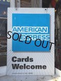 Vintage American Express Double Sign (DJ480)