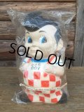 80's BIG BOY VINYL DOLL BANK - G (DJ482)