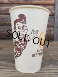 Vintage Bob's Big Boy Wax Cup #M (DJ484)