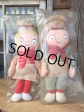 60s Vintage Campbell Kids Rag Doll Set DEAD STOCK (DJ500)