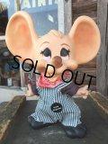 Vintage HURON Mouse Bank Hickory OA (DJ557)