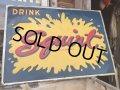 50s Vintage Squirt Soda Embossed Sign (DJ571)
