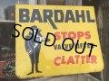 Vintage BARDAHL OIL Sign  (DJ570)