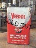 Vintage Oil Can / VEEDOL (DJ594)