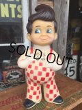 70's BIG BOY VINYL DOLL BANK - I (DJ604)