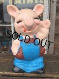 70s Russ Pig Plastic Bank (DJ622)
