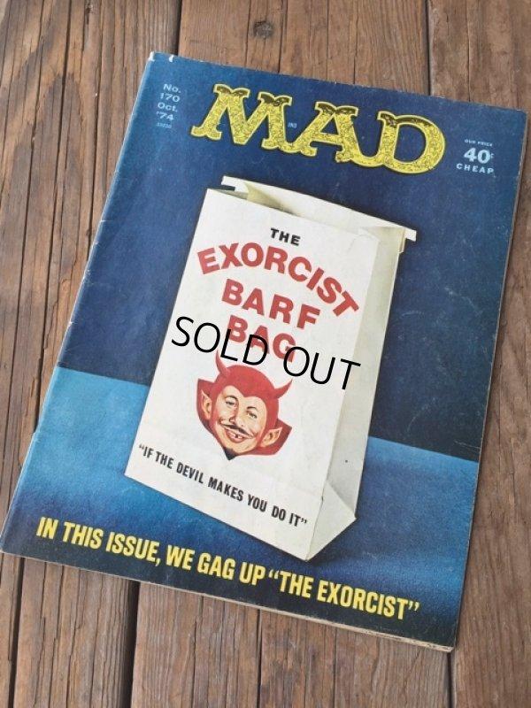 画像1: 70s Vintage MAD Magazine / No170 Oct '74 (DJ728)