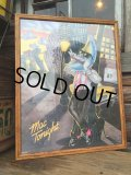 80sVintage McDonald's MacTonight Store Display Poster W/Frame (DJ739)