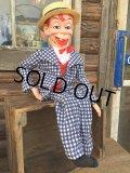 60s Vintage Mortimer Snerd Ventroloquist Doll (DJ758)