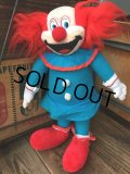 80s Vintage Bozo The Clown ACE Plush Doll (DJ774)