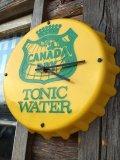 70s Vintage Canada Dry Wall Clock (DJ787)