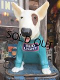 80s Vintage Spuds MacKenzie Bud Light Store Display Lamp #A (DJ793)