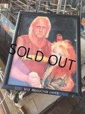 Vintage Hulk Hogan x Cyndi Lauper W/Frame (DJ845)