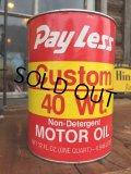 SALE! Vintage Pray Less 1 Quart Motor Oil Can (DJ879)