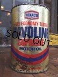 SALE! Vintage TEXACO HAVOLINE 1 Quart Motor Oil Can (DJ888)
