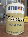 SALE! Vintage UNION76 1 Quart Motor Oil Can (DJ886)