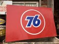 Vintage Unocal Union 76 Gas Station Oil Sign (DJ898)